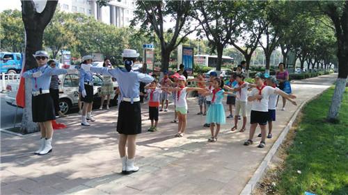 鹤壁湘江小学小小志愿者社会实践活动